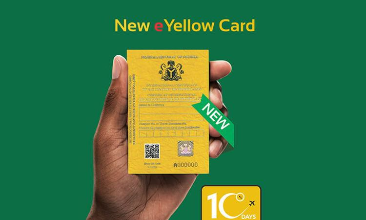 FG Phases Out Old Yellow Card, Replaces With New Electronic Version -  Federal Ministry of Information and Culture