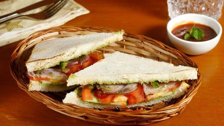 veg sandwich - Vegetable Sandwich
