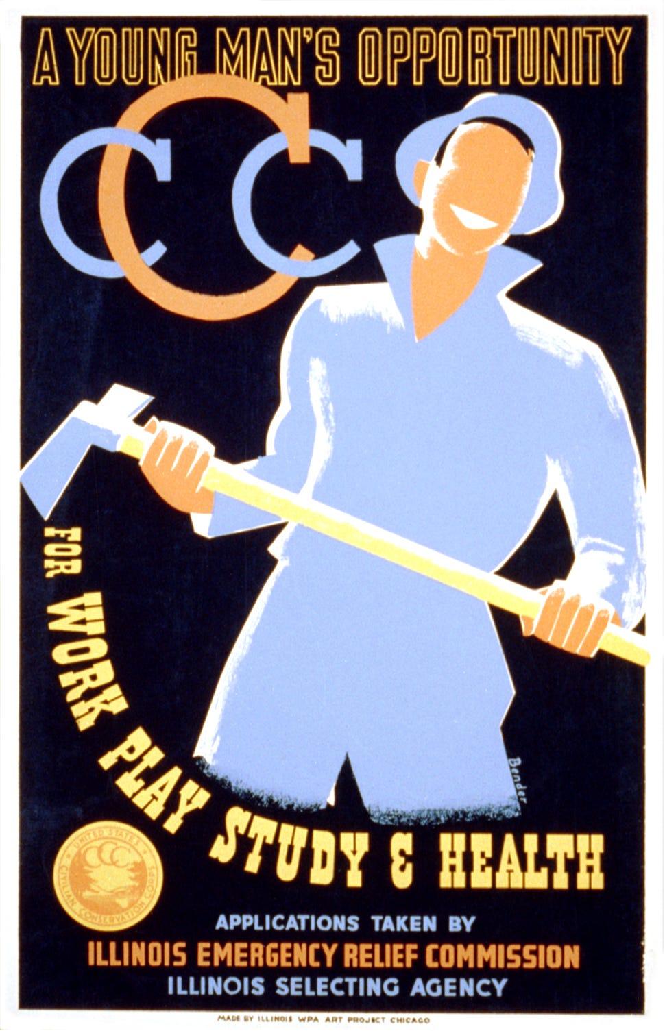 CCC Recruitment poster