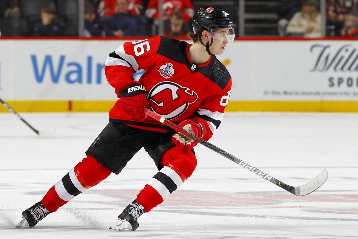 Is Jack Hughes Just Brett Seney with More Hype?' and Other Hughes-Related  Questions for Panicky Devils Fans - All About The Jersey