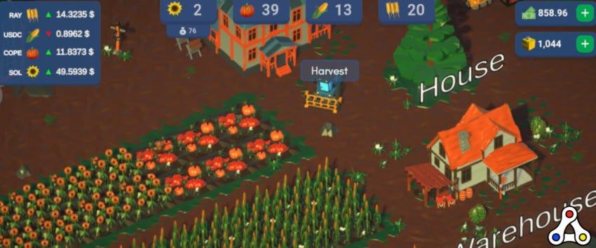 DeFi Farm gamification finance