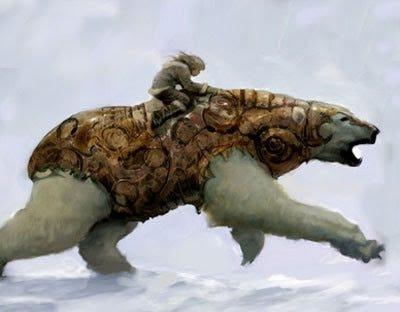 Beeline: Phillip Pullman - polar bear in the book ...