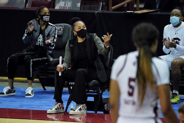 Dawn Staley. (photo courtesy of South Carolina Athletics)