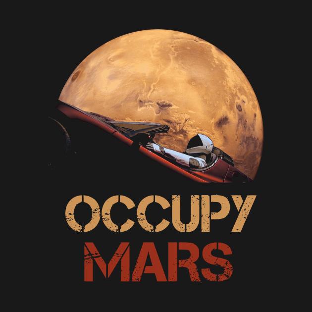 rick huckstep wiser! occupy mars