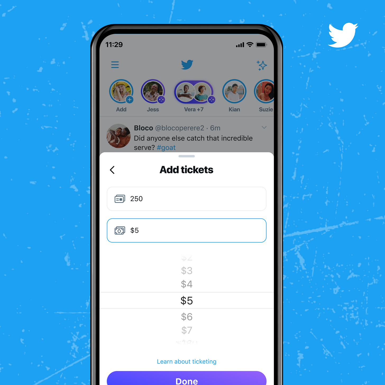 Twitter launches ticketed spaces and you can choose the price of your ticket