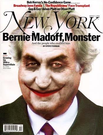 Portada con Madoff