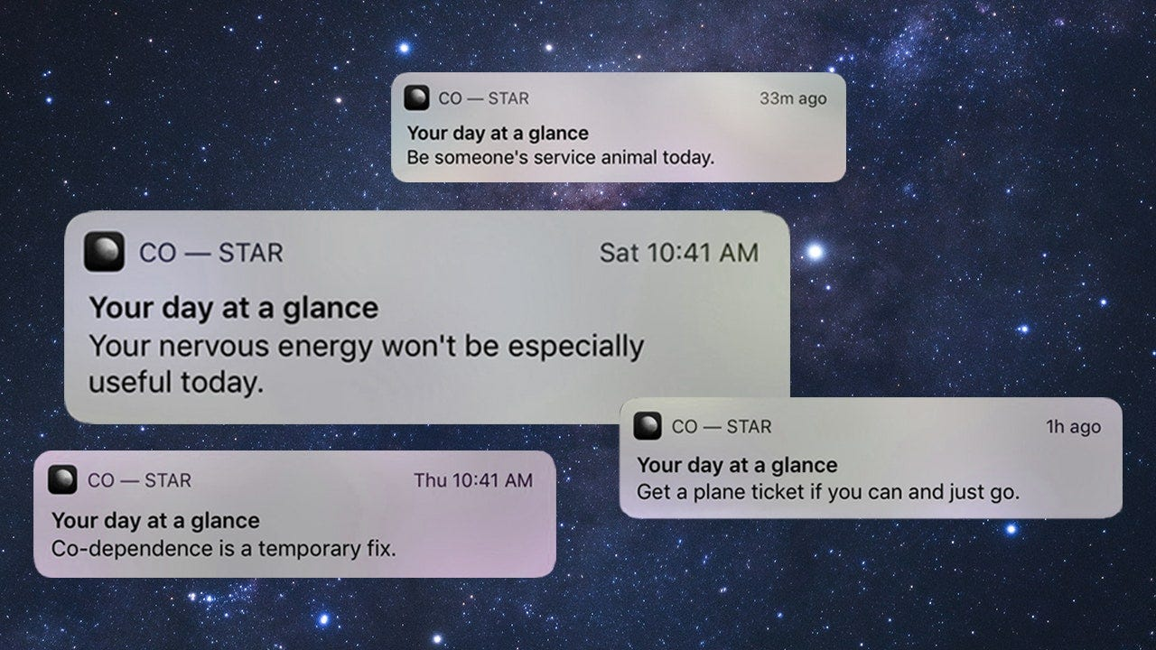 Collage of shady or weird CoStar alerts