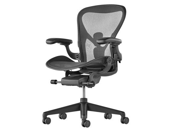 Herman Miller New Aeron chair - Graphite - Film and Furniture
