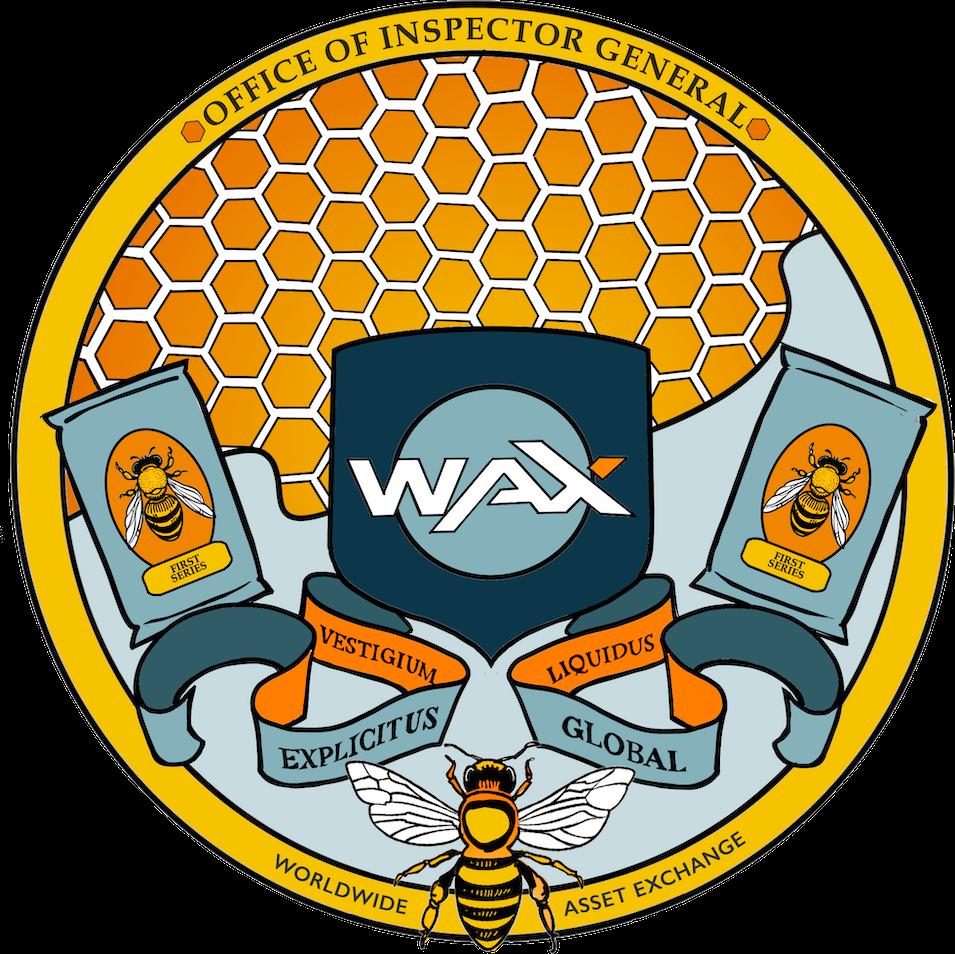 WAX OIG Logo