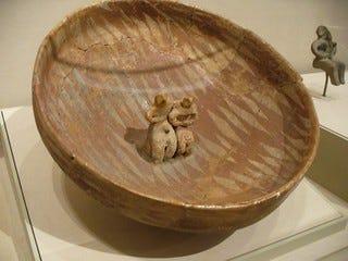 Gumelniţa bowl with figures, circa 4600-3900 bc | Ceramic bo… | Flickr