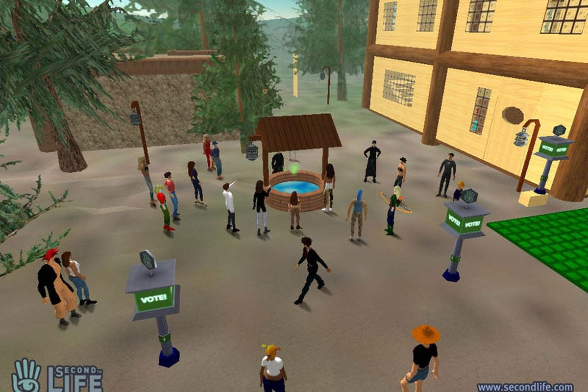 Image result for second life