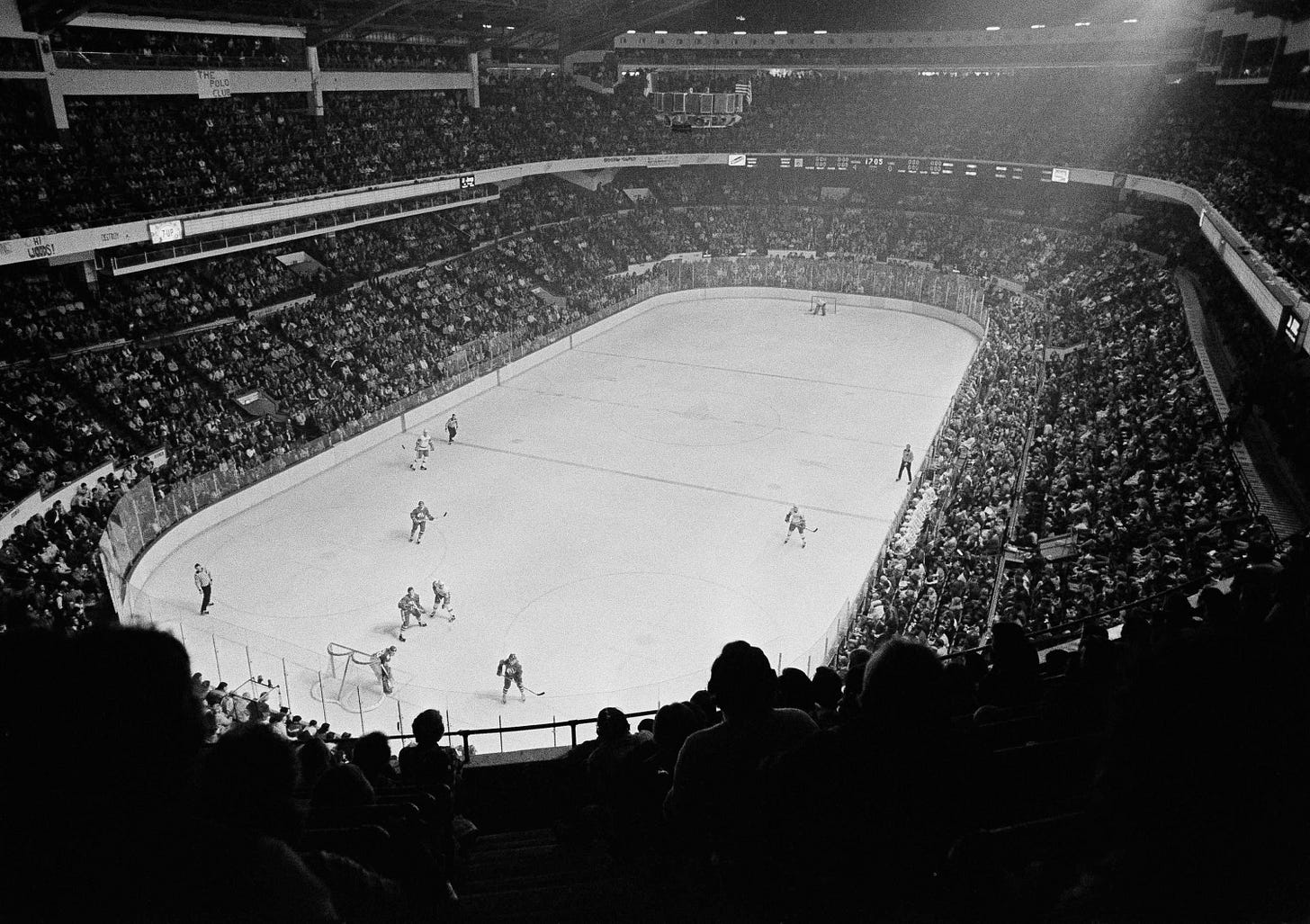 Of Olympia, Joe Louis Arena and a near-miss with history