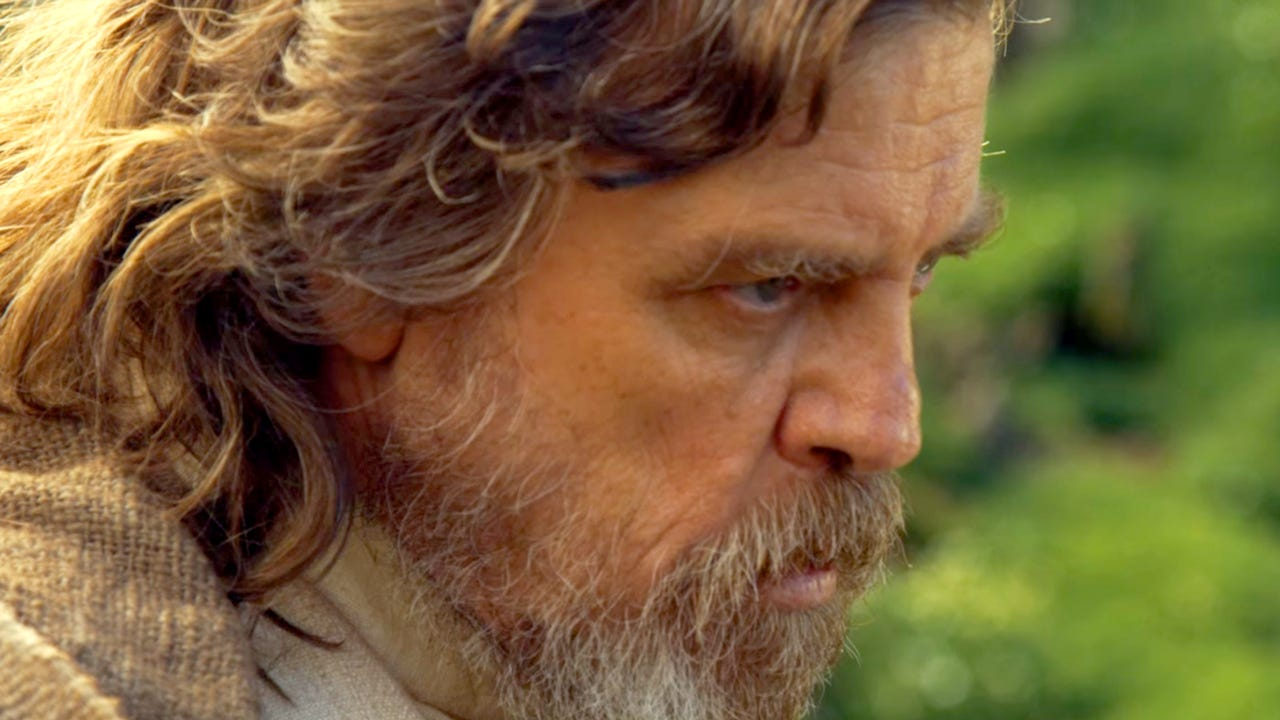 Mark Hamill in the Star Wars sequels.