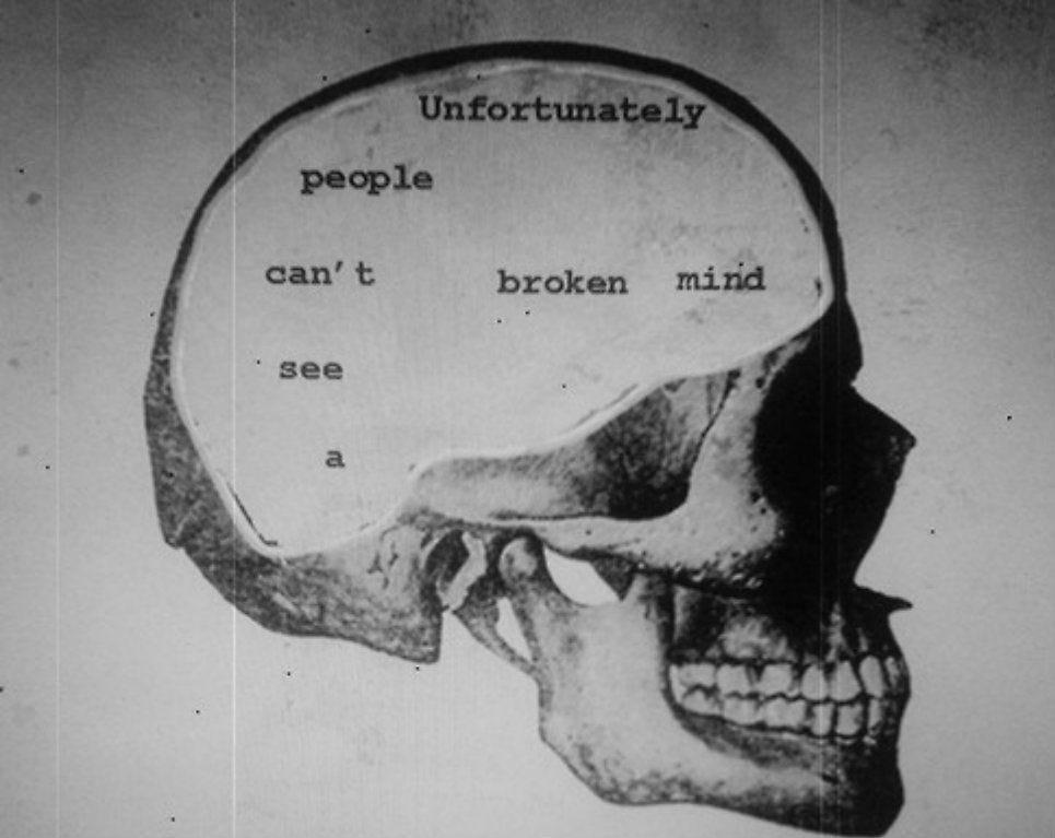Broken Mind   We The People   Pinterest