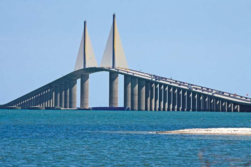 Sunshine Skyway Bridge | bridge, Tampa Bay, Florida, United States |  Britannica