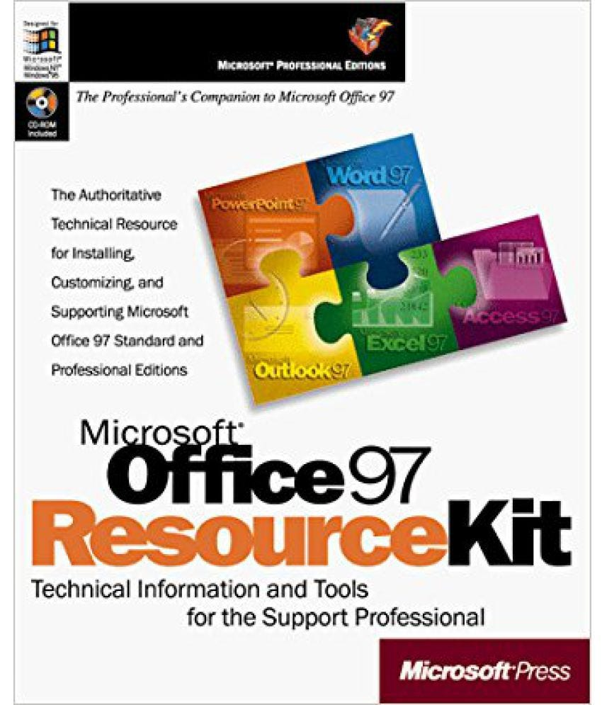 Book Office 97 Resource Kit