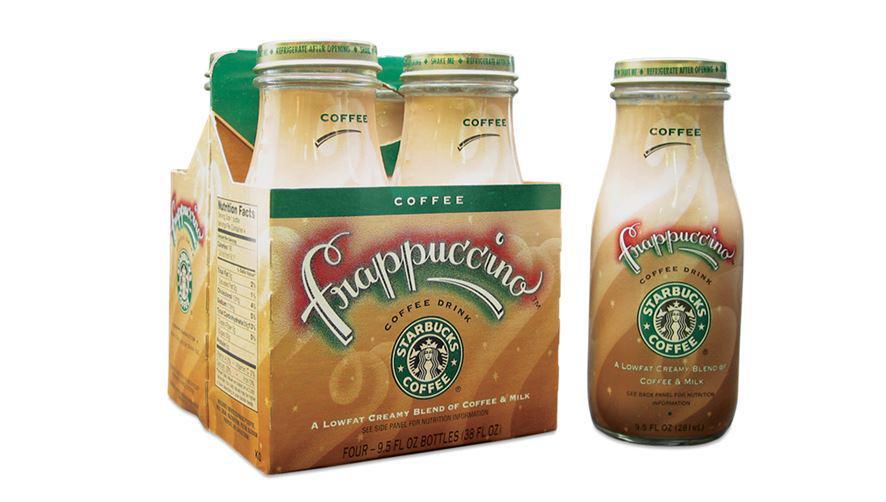 """Starbucks News on Twitter: """"#Starbucks original bottled @Frappuccino, circa  1996. #tbt http://t.co/PchvSzfkJG http://t.co/5oyDpCjRyD"""""""