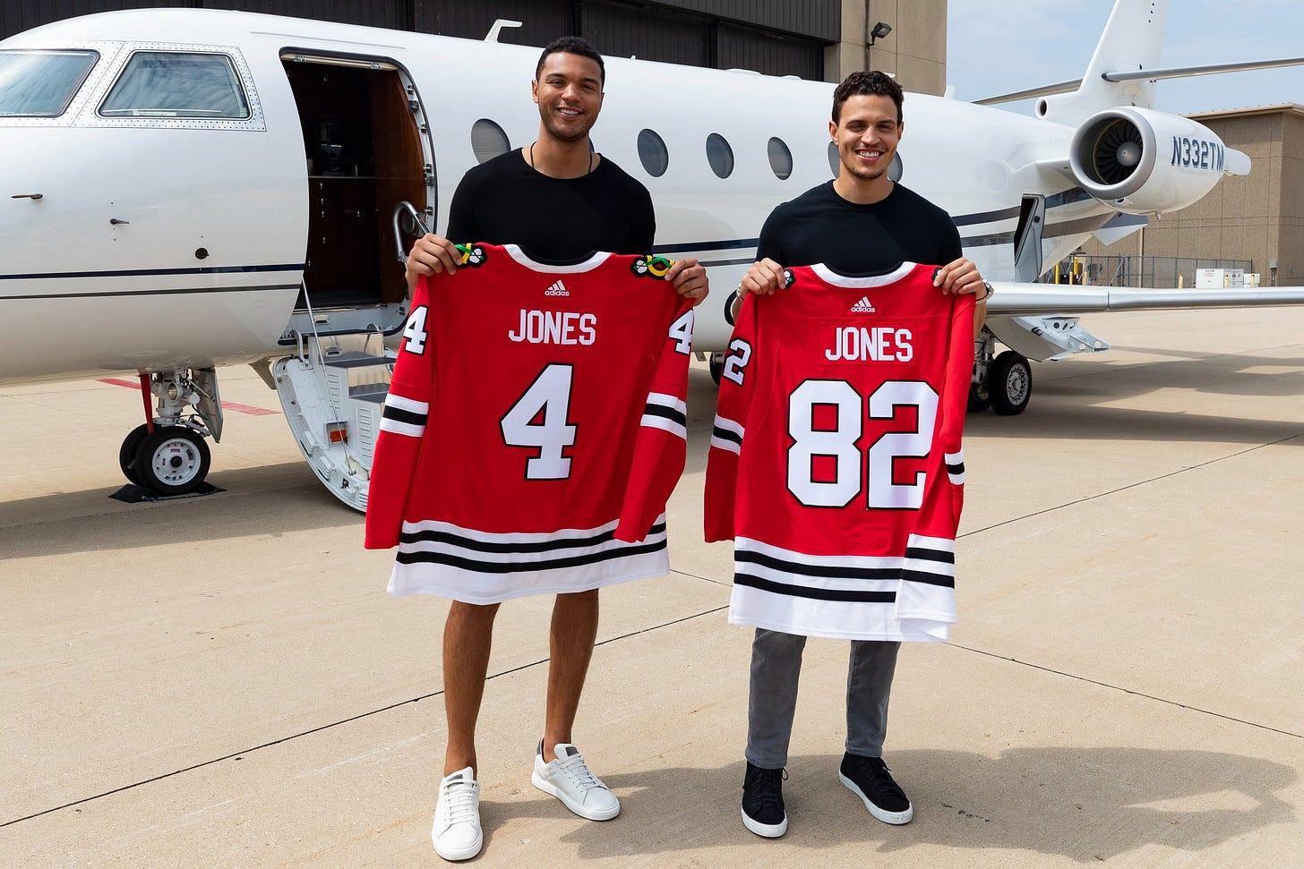 Seth Jones to Wear No. 4 with Blackhawks - On Tap Sports Net