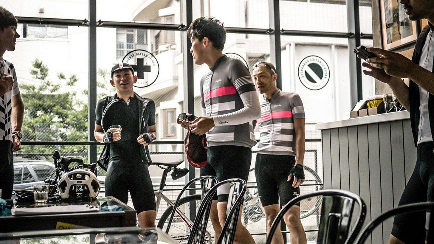 Image result for rapha cycling club