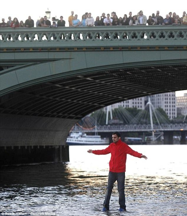 Dynamo says walking on water trick was inspired by bullies ...