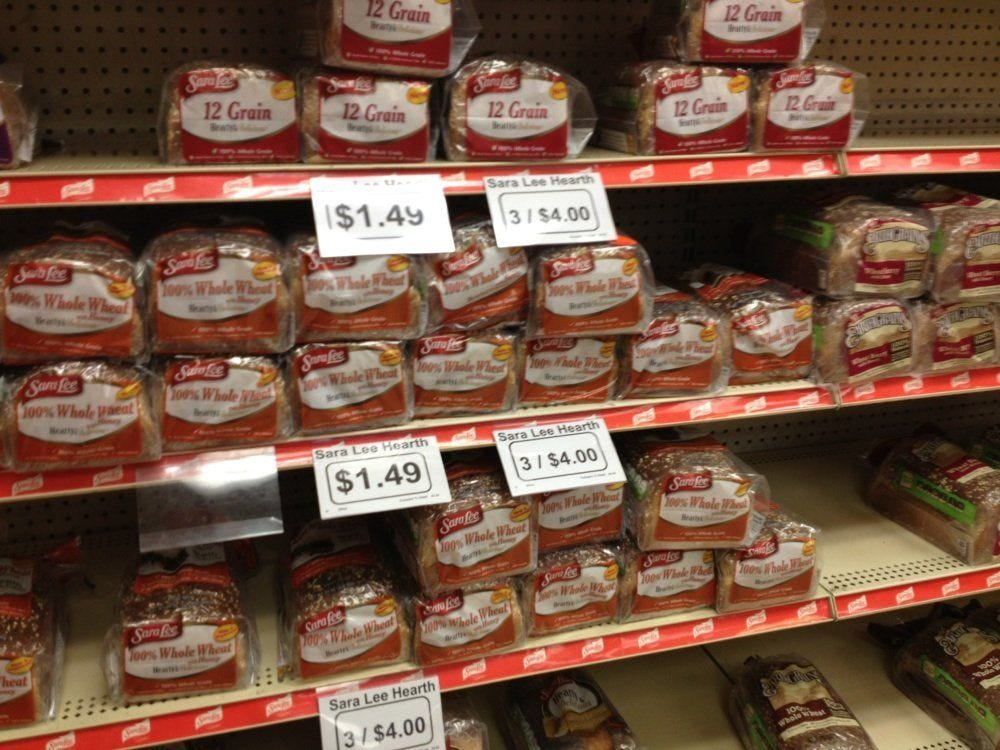 Image result for bread picture store with price