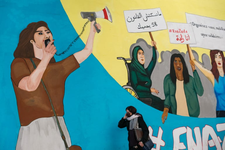 Many Tunisian women dreamed of greater gender equality after autocratic leader Ben Ali was toppled by protests in January 2011 [Constantin Gouvy/Al Jazeera]