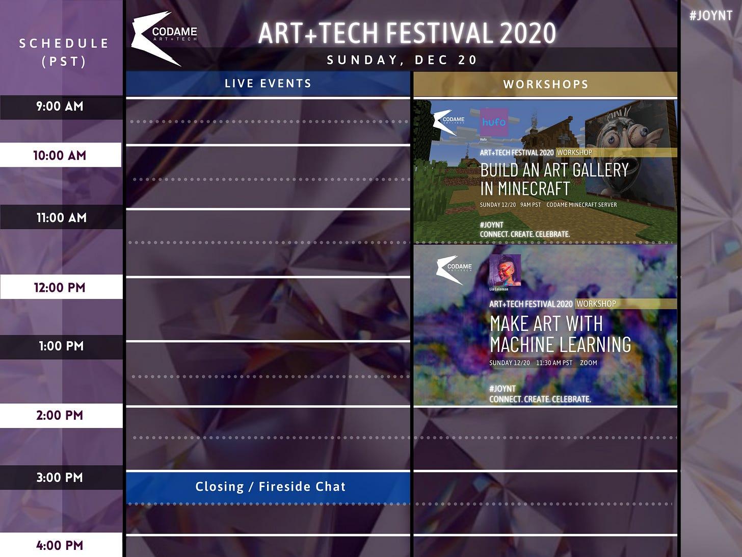 DAY 10: ART+TECH Festival 2020『 JOYNT 』
