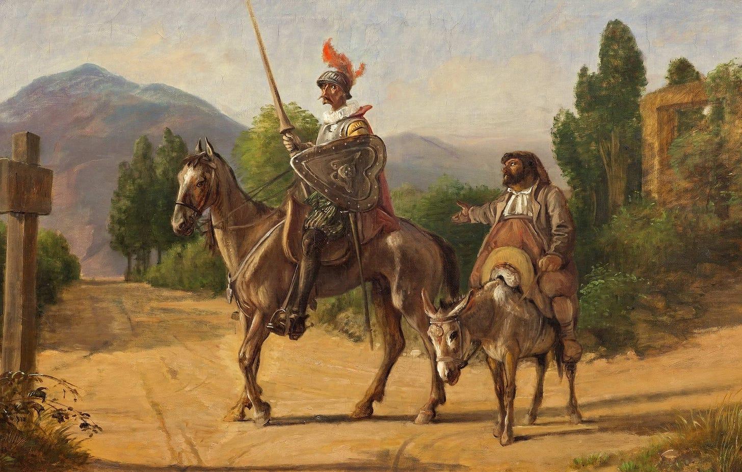 Image result for Don Quixote art