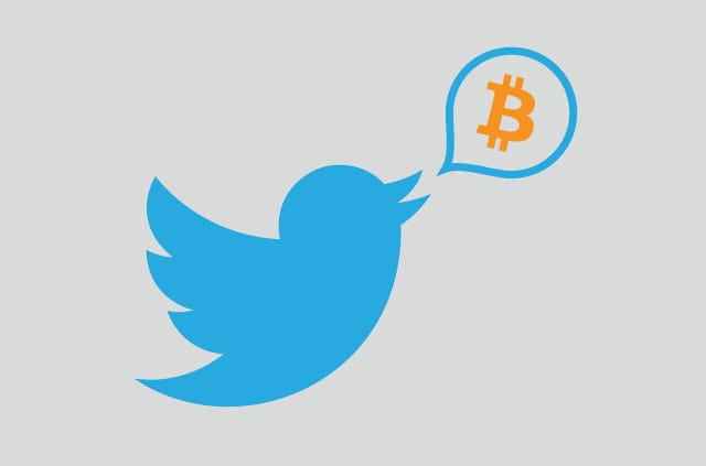 Image result for twitter bitcoin