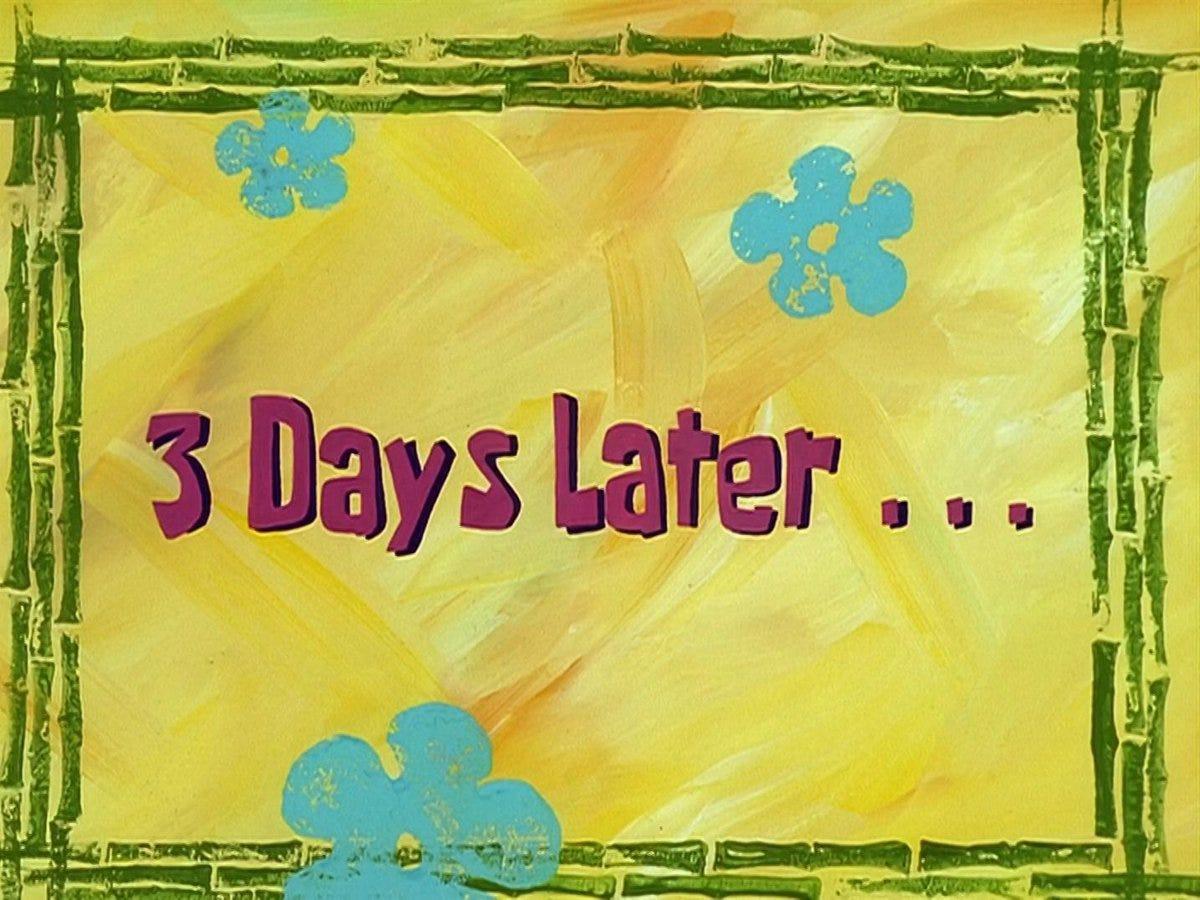 List of time cards | Encyclopedia SpongeBobia | Fandom
