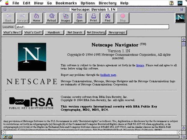 In Pictures: A visual history of Netscape Navigator - Slideshow - ARN