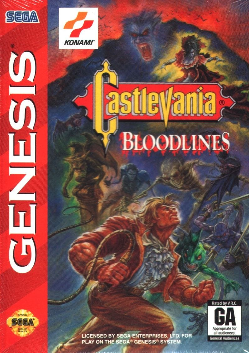 Castlevania: Bloodlines for Genesis (1994) - MobyGames