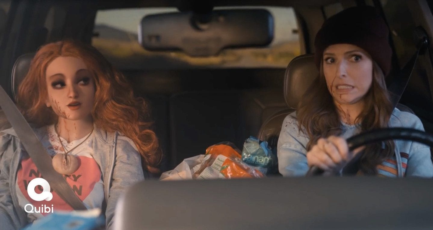 First look at Anna Kendrick in comedy series Dummy sees woman ...