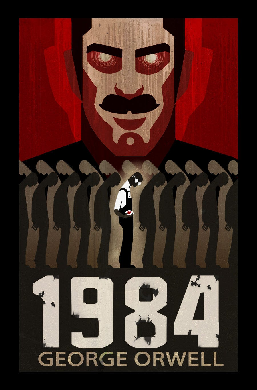 #6Degrees of Separation: 1984 by George Orwell | How To Be ...