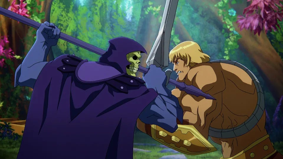 Skeletor and He-Man