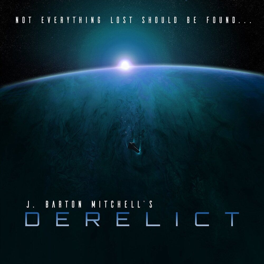 Derelict is a new podcast from J. Barton Mitchell