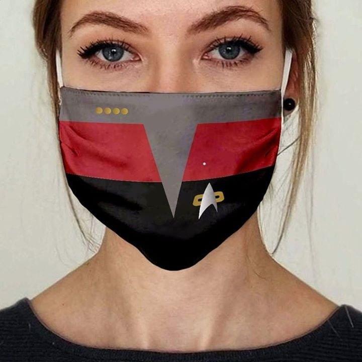 Star Trek Energize Face Mask