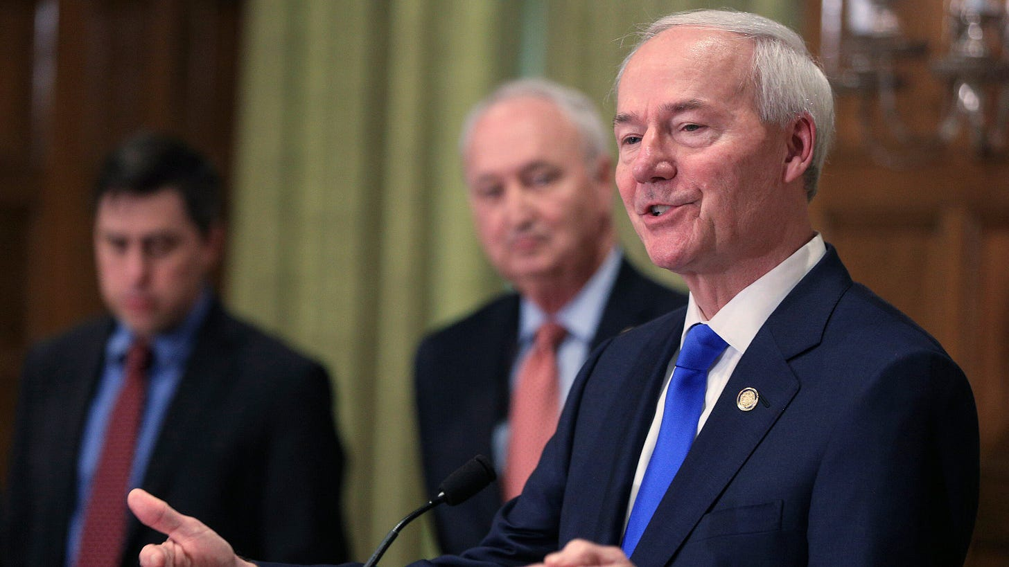 G.O.P. Governor of Arkansas Vetoes Anti-Transgender Bill - The New York  Times