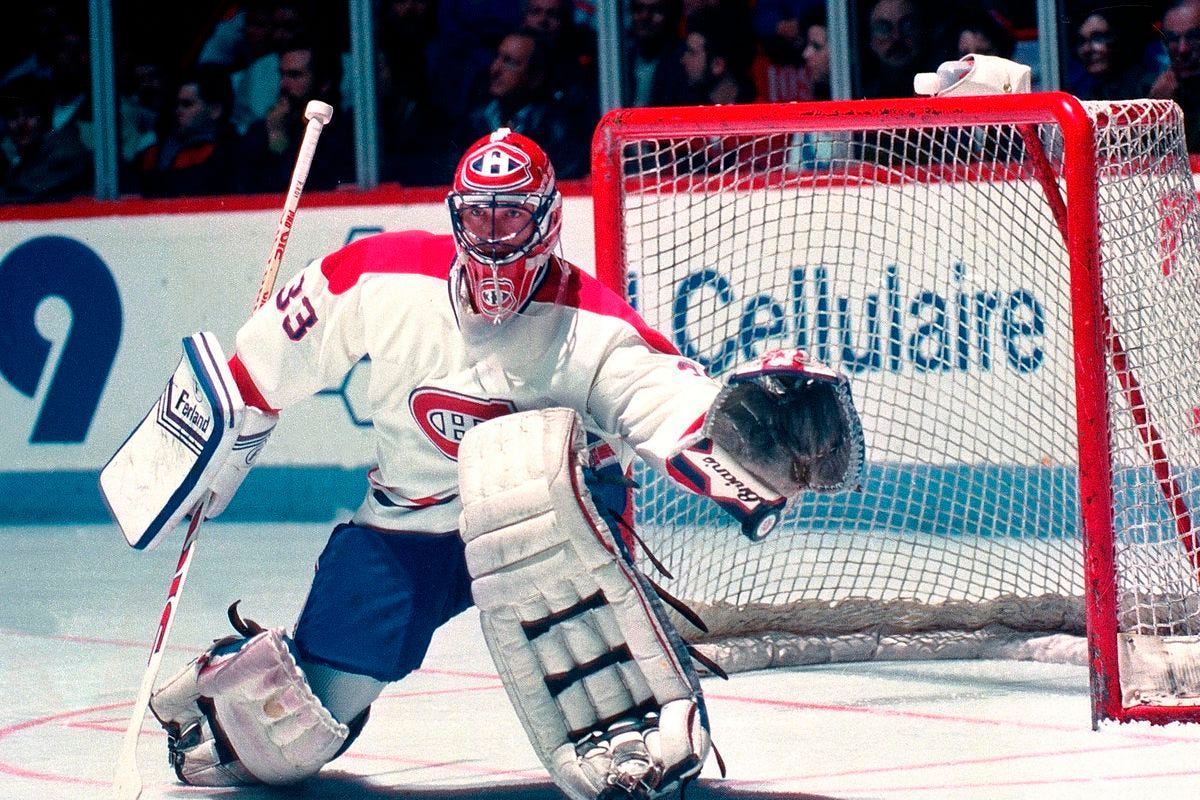 Montreal Canadiens Legends Challenge: Patrick Roy unsainted on day two -  Eyes On The Prize