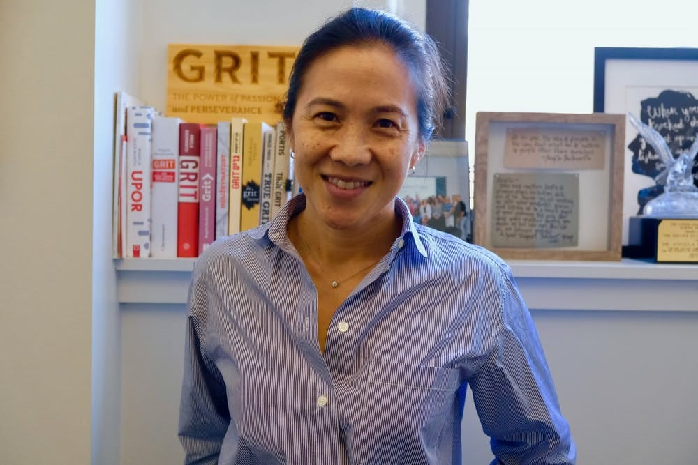 Angela Duckworth, author of Grit