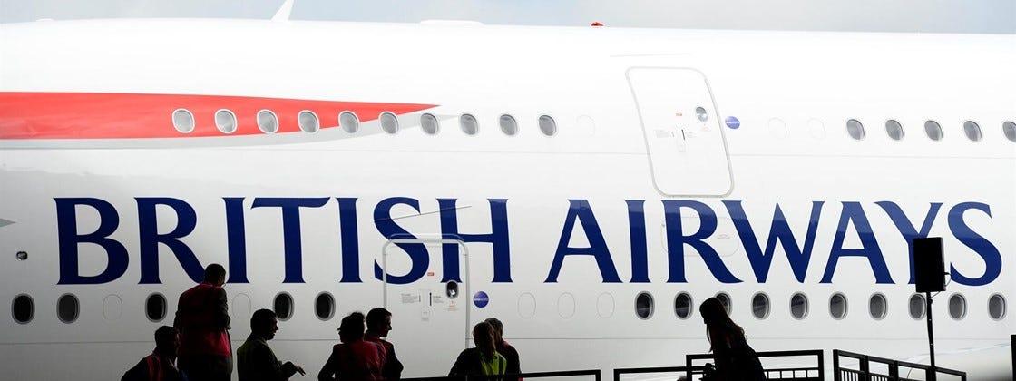 Imagem de: British Airways é multada em R$ 900 milhões por vazamento de dados