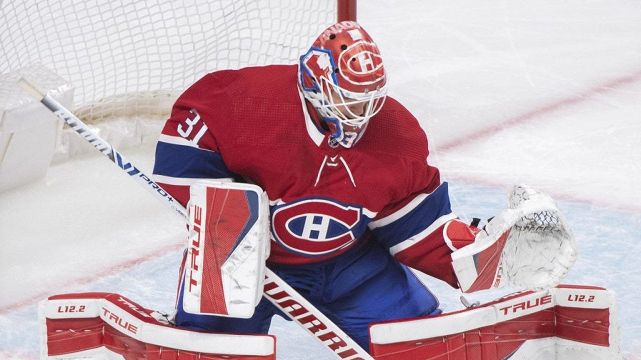 Canadiens-Jets series could become goalie duel with Price, Hellebuyck -  Sportsnet.ca