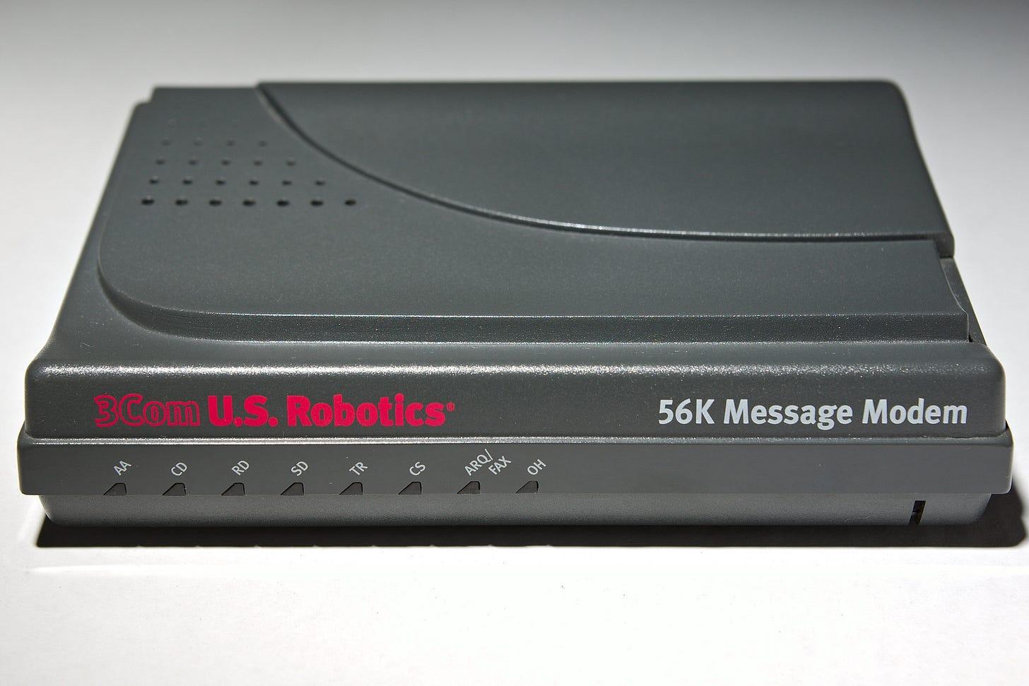 3Com US Robotics 56K Message Modem