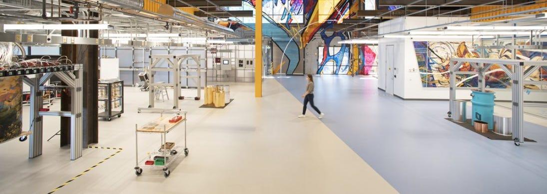 The new Quantum AI campus at Google
