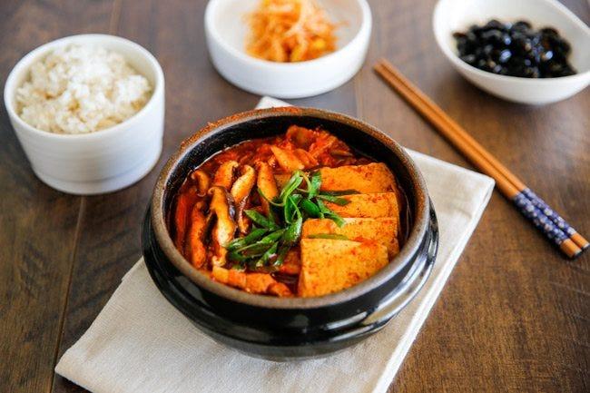 The Classic, Kimchi Jjigae - My Korean Kitchen