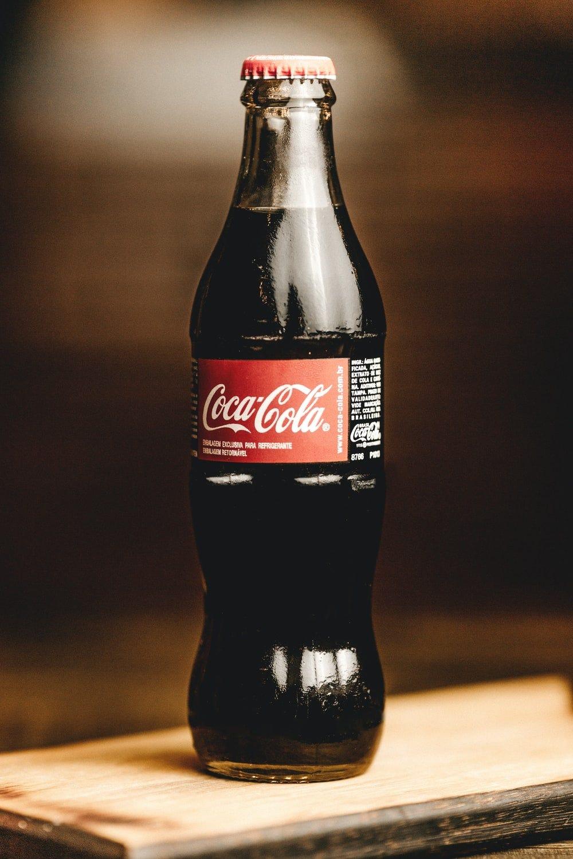 Coca-Cola glass bottles