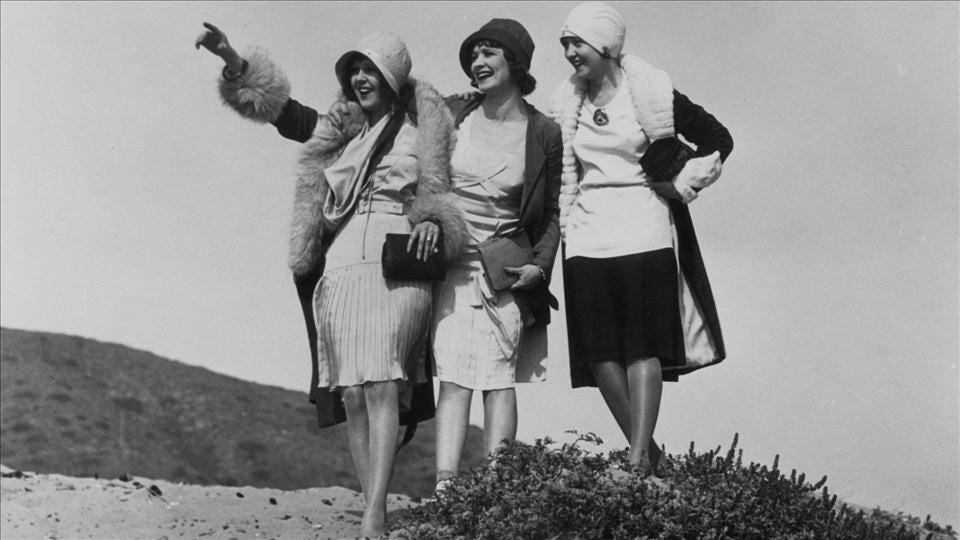 World War I Centenary: Flappers