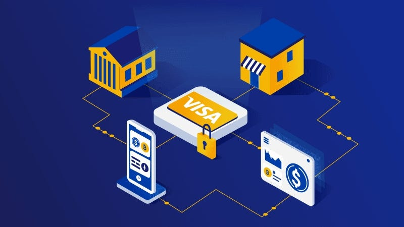 Image result for visa crypto