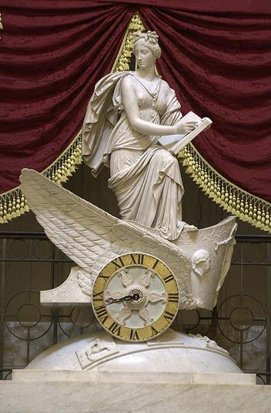 Car of History Clock | Architect of the Capitol