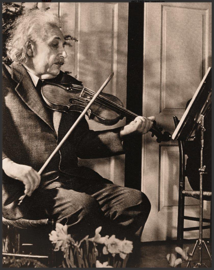 Image result for einstein violin